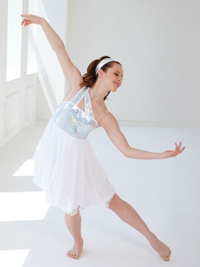 New elegant white kids adult competition Ballet Dress Bailarina Balet tap jazz modern dancing clothing