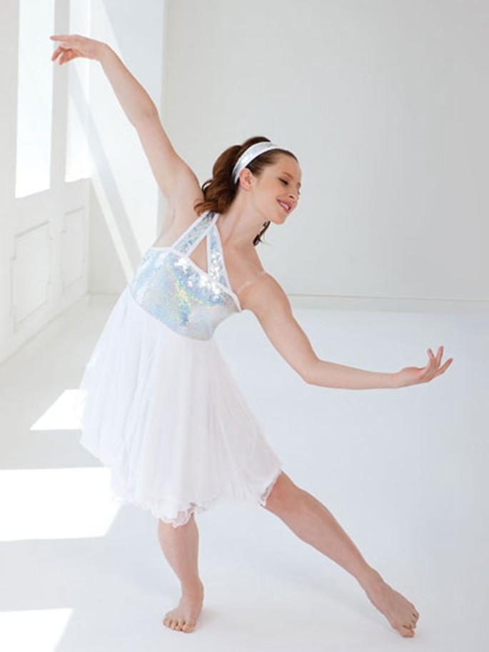 Платье для танца в стиле модерн