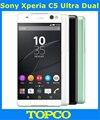 "Sony xperia c5 dual original gsm desbloqueado 4g lte android octa core ram 2 gb rom 16 gb 6.0 ""13MP WIFI GPS E5563 Dropshipping"
