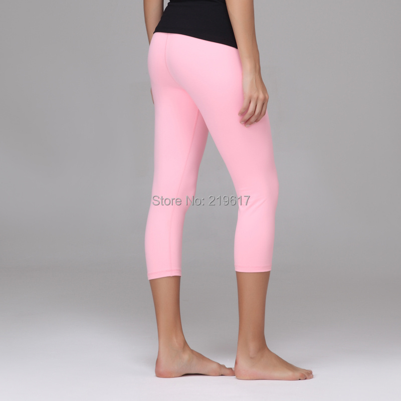 2015 Wholesale Top Quality Light Pink Quality Queen Slim Sport Crop