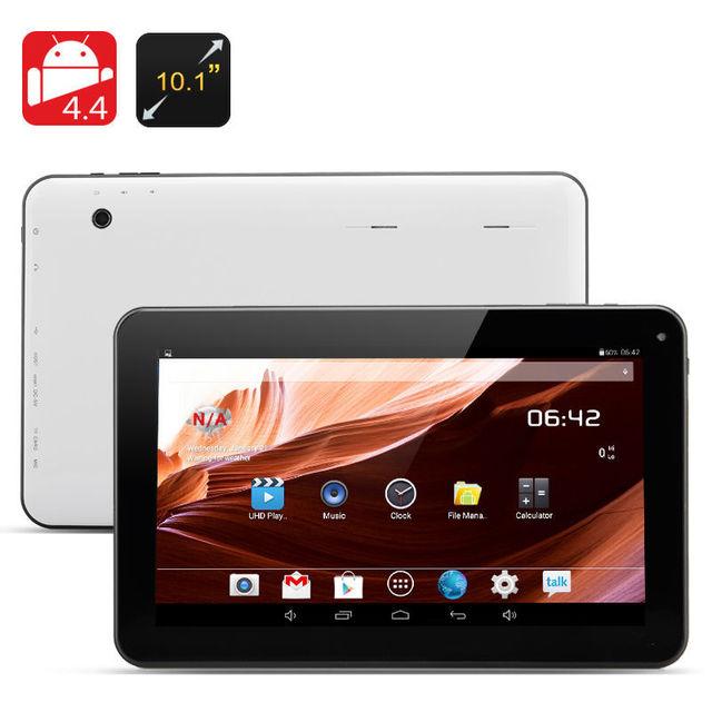 Moda 10.1 Polegada Android Tablets PC 1 GB 16G WIFI Bluetooth Dupla câmera 1 GB 16 GB 1024*600 lcd 10.1 pc tab Quad Core A33 Tablet