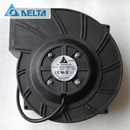 Delta KFB1248GHS 18cm 180mm 18070 48V blower communication industry cooling turbo fan цена