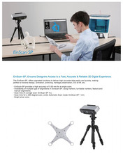 HE3D Desktop white light Einscan-SP 3D Scanner,save as STL file,Fast, versatile, easy and fast, compatible with 3D printing