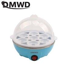 DMWD быстрый нагрев электрическая яйцеварка 7 яиц емкость котла Сковорода-пароварка портативные кухонные инструменты Кухонная утварь посуда EU US