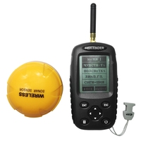 Wireless Fish Finder Portable Deeper Fishfinder Sonar 0 6 40M Alarm Transducer Batteries Sounder Sonar For