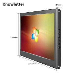 "Image 3 - 13.3 ""2 K 휴대용 금속 HD 모니터 2560X1440 IPS 패널 PS3 PS4 Xbox360 디스플레이 모니터 라스베리 파이 Windows 7 8 10"