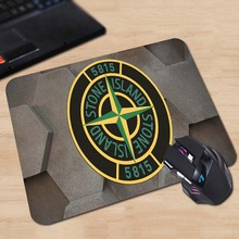 Green Stone Island Animals Cartoon Mouse Pad New Design Two Size 180x220x2mm 250x290x2mm