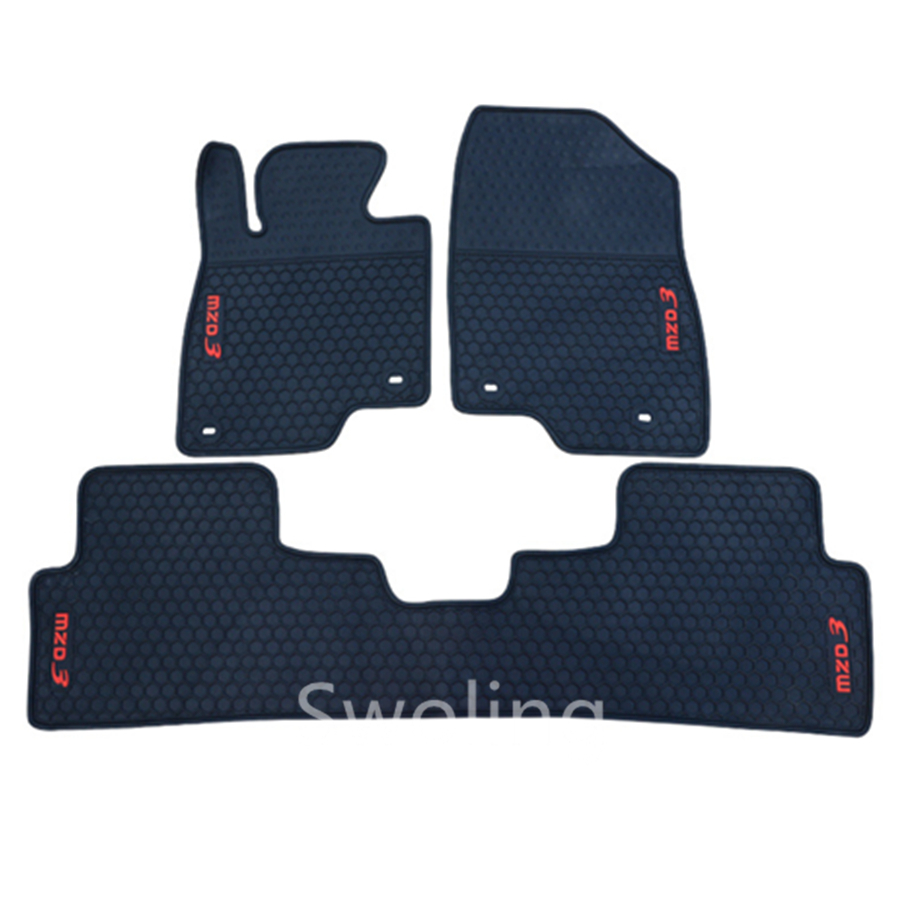 For Mazda 3 Axela High Quality Waterproof Anti Skip Latex Durable Carpets Special Rubber Car Floor Mats
