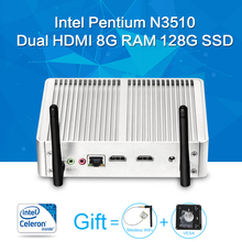 Mini PC,Celeron N3510 8G RAM 64G SSD, Laptop Computer,Motherboard Can External Hard Drive,Computer Cable Thin Client