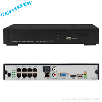 5 0MP POE NVR High Quality 8 Channel FULL 1080P POE NVR P2P Onvif 1080P POE