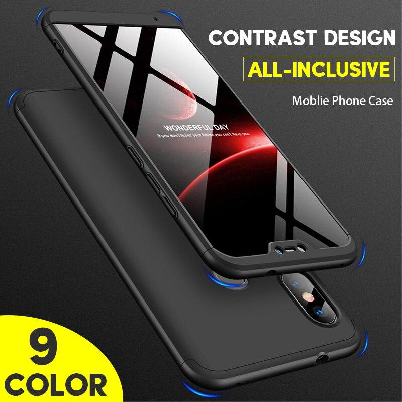 Original Phone Cases For iPhone XS Max Case 360 Cover For iPhone XR Coque Hard Case For iPhone 7 8 Plus X 6 6s 7Plus 8Plus 6Plus iPhone XS