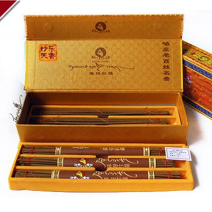 The XueYu tibetan incense, To improve the quality of sleep health incense can prevent colds, From Tibet natural herbal incense