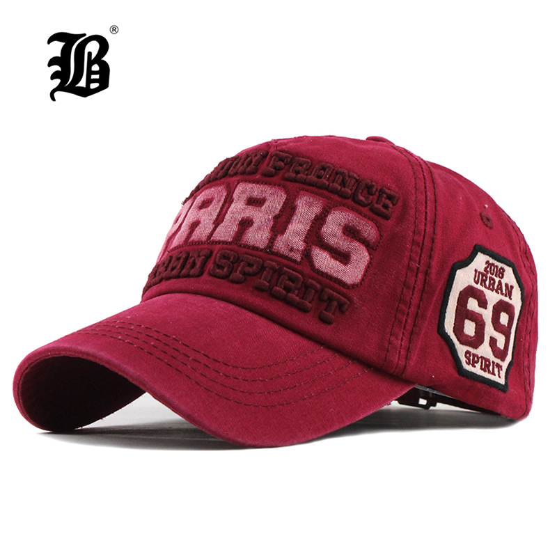 [FLB] 2019 New Cotton Men's   Baseball     Cap   Snapback Hats Casquette Gorras Summer Fishing Hat For Men Women   Caps   Washed Hats F300