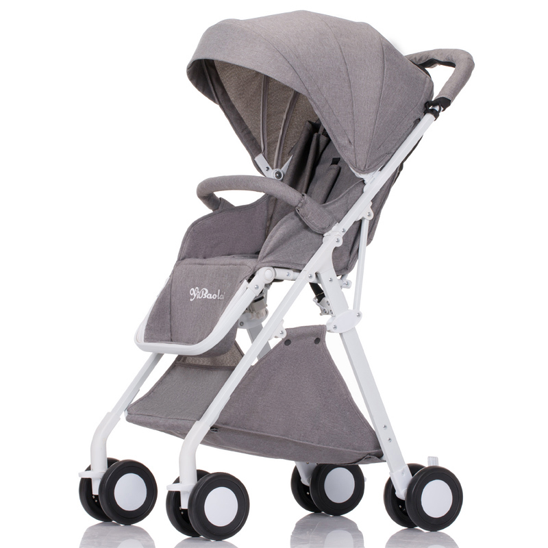 Baby trolley can be sitting can be folded small super light portable on the plane high landscape hand umbrella car cr80 crf125 150 250 450 230f falling short handle can be folded forging horn