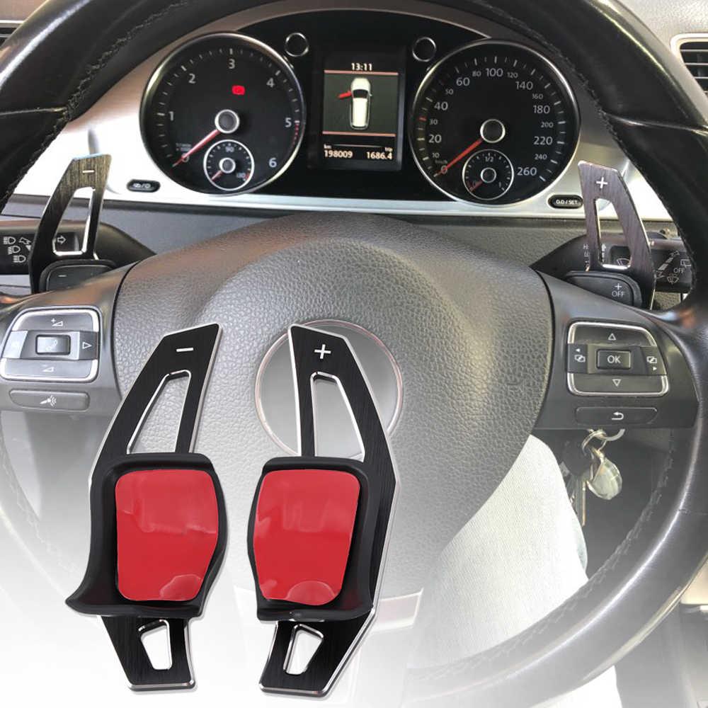 Aluninium сплав DSG руль весло расширение сдвига крышка аксессуары для Volkswagen VW Golf 6/R/GTI