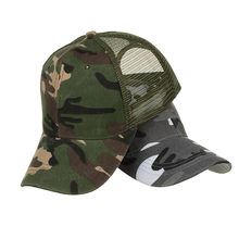 Camouflage Summer Cap Mesh Hats For Men Women Casual Hats Hip Hop Baseball Caps(China)