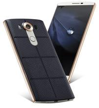 """قاعدة شاحن لاسلكي NFC ممتازة لغطاء بطارية جهاز استقبال يدعم NFC لـ LG V10 5.7 """"علبة شحن جديدة لهاتف LG V10 H968"""