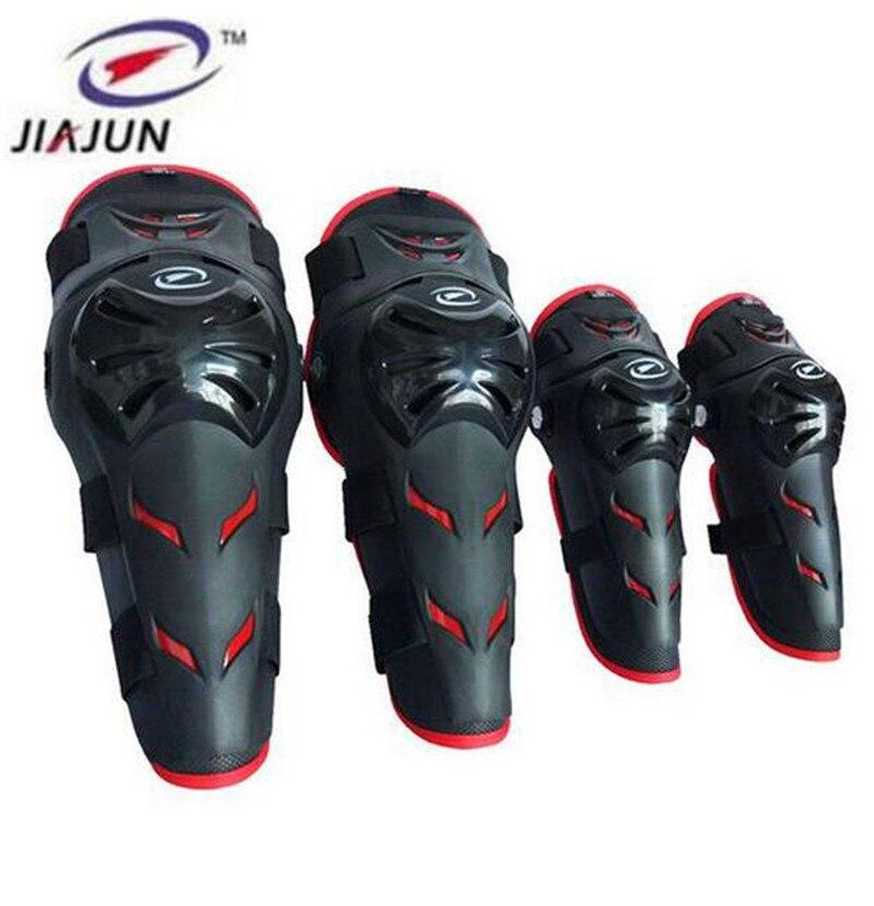 JIAJUN 4 pcs Ski Moto De Protection Uniforme Pantalon Genou Tactique Et Elbow Protector Pads Set Genou et Coudières