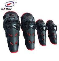 JIAJUN 4pcs Ski Motorcycle Protective Uniform Pants Tactical Knee And Elbow Protector Pads Set Knee & Elbow Pads