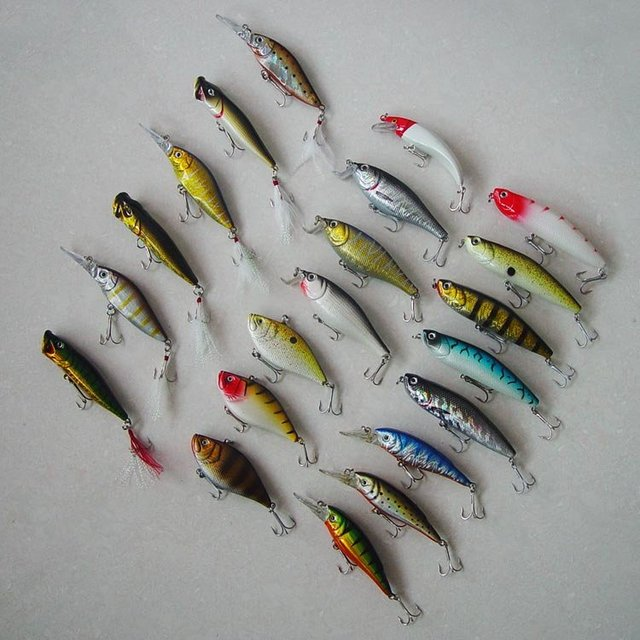 Free shipping,New Arrivals,  Fishing Lure Hard Plastic Minnow/Popper/Vibration  9g-17g/8cm-10cm 30pcs/lot