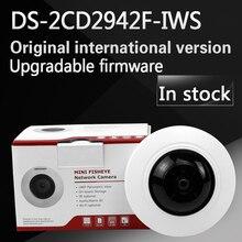 In auf Englisch version DS-2CD2942F-IWS 4MP Kompakte Fisheye Netzwerk Kamera Wi-fi, unterstützung WPS konfiguration
