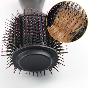Image 3 - Hair Straightener & Curler One Step Hair Dryer and Volumizer Salon Hot Air Paddle Styling Brush Negative Ion Generator Comb