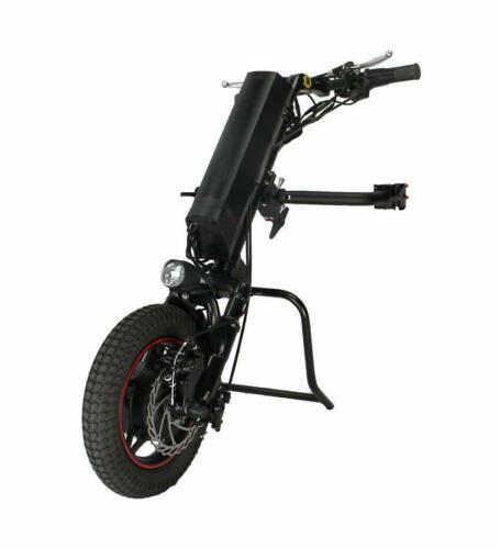 Ue bezcłowy Conhismotor 36V 250W 8.8-11.6ah elektryczny ręczny składany wózek inwalidzki załącznik ręczny rower zestawy do konwersji