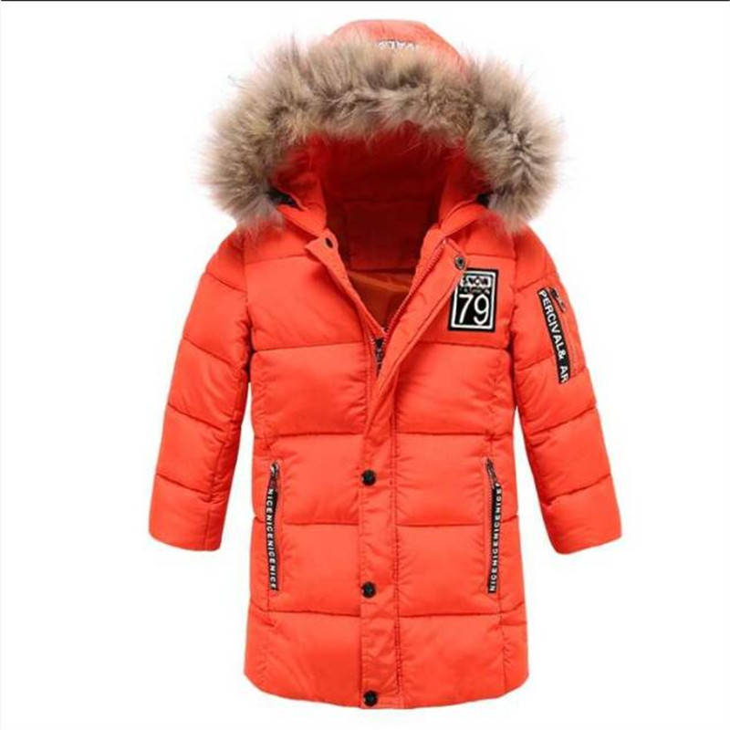 Girls' Clothing Outerwear & Coats Child 2018 Children New Winter Girls Korean Thickened Hand Cotton Hooded Down Cotton Padded Jacket