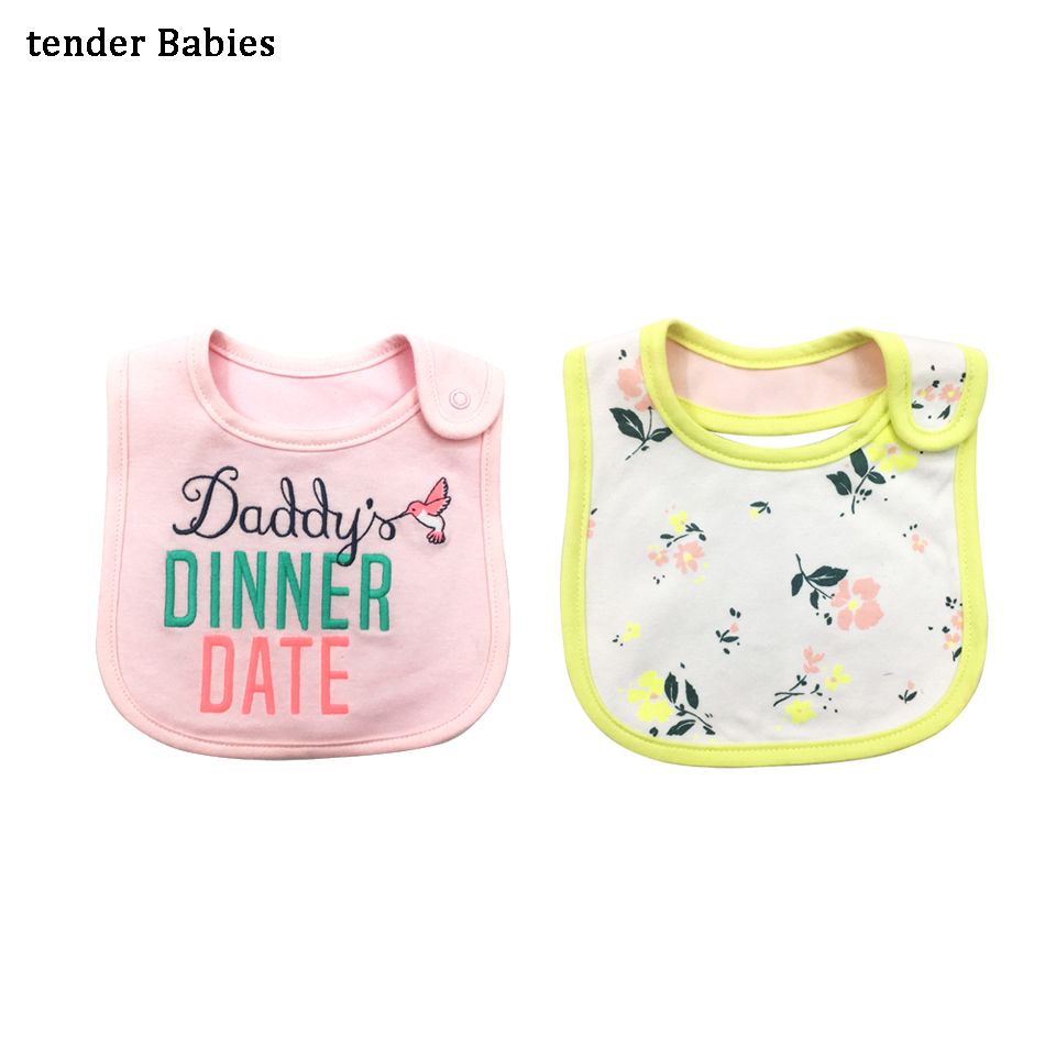 Newborn Baby Boy Girl Bibs Waterproof Bib Bandana Baberos Bibs For Kids Girls Boys Bib Baby Clothing Cartoon Accessories