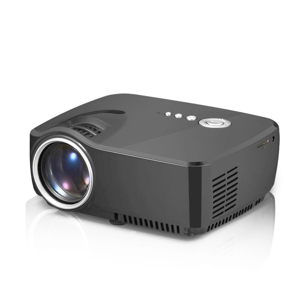 цена на 7000LM 1080P 3D Mini Projector Home Theater LED Multimedia HDMI VGA USB RGB Simple Beamer LED Portable Projector
