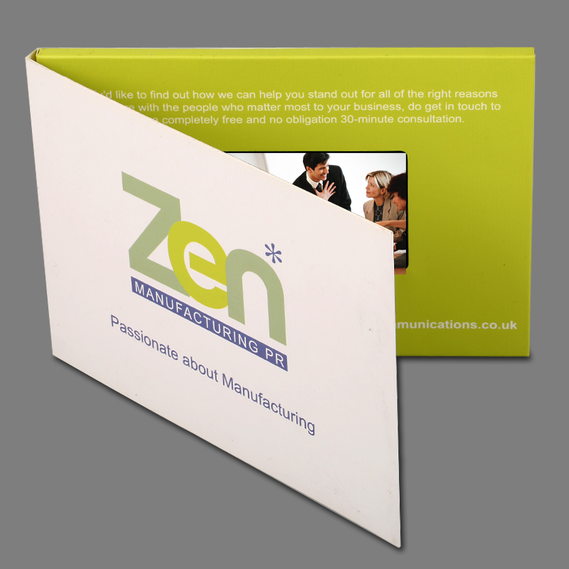 Design custom production2gb 4 3inch Video Brochure Cads for     Design custom production2gb 4 3inch Video Brochure Cads for Presentations  Digital Advertising Player Screen Video Greeting card  in MP4 Player from  Consumer