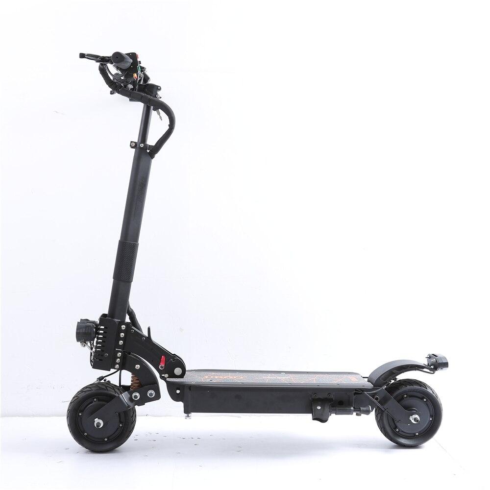 UBGO 1006 48V21A Doppel Fahrer 1900 W Motor Leistungsstarke Elektrische Roller 8 Zoll E-Roller