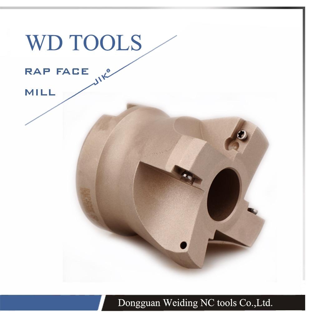 RAP 400R 80-27-5T Diametro di taglio del laminatoio per spianatura - Macchine utensili e accessori - Fotografia 6