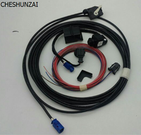 Imported Blue Connector OEM Original VW Scirocco RGB Rear View Reversing Camera RVC RCD510 RNS510 RVC
