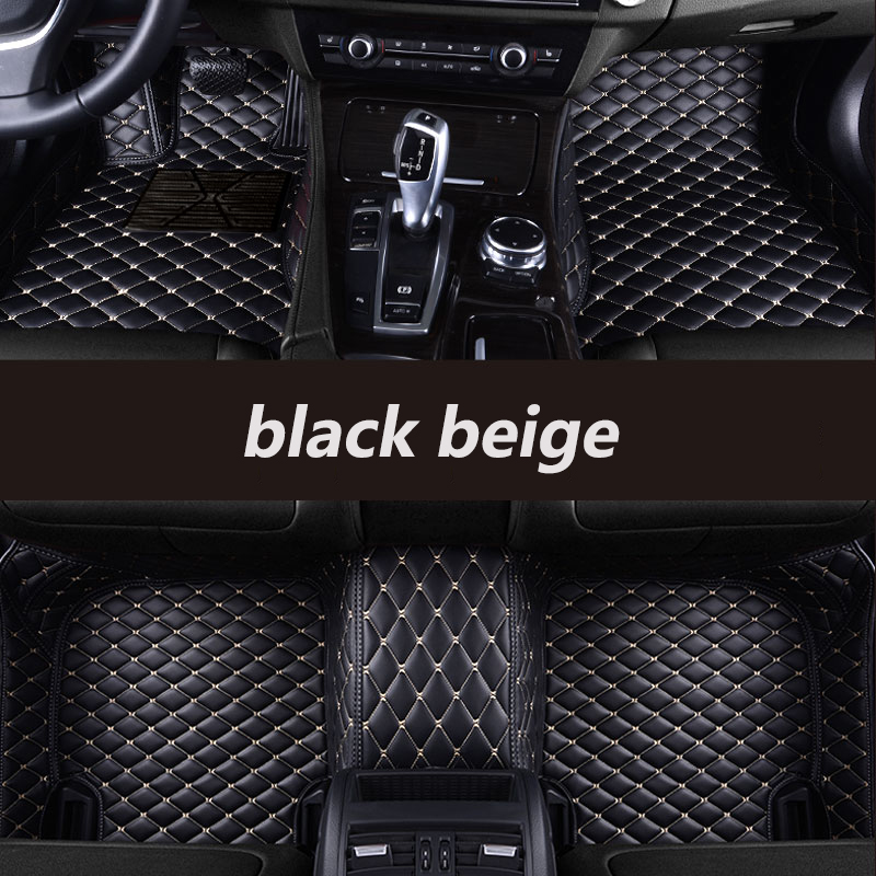 цена на kalaisike Custom car floor mats for Skoda all models superb fabia octavia rapid kodiaq yeti car styling accessories floor mat