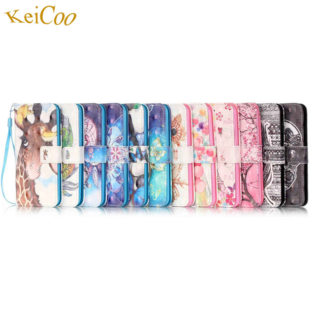 Brand 3D Art PU Leather Mobile Cases For SAMSUNG Galaxy S4 GT-i9515 Cute Cartoon Covers S4 Book Flip Movie Stand Protect Cases