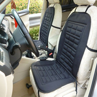Winter Warm Car Seat Cushion Cover 12V DC Electric Heated Car Seat Covers Pad For VW