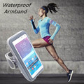 5.5/4.7 pulgadas universal correr montar gimnasio caja del brazal del deporte para iphone 5 6 6 s 7 plus para samsung note 5 4 s7 s6 edge cubierta de la bolsa