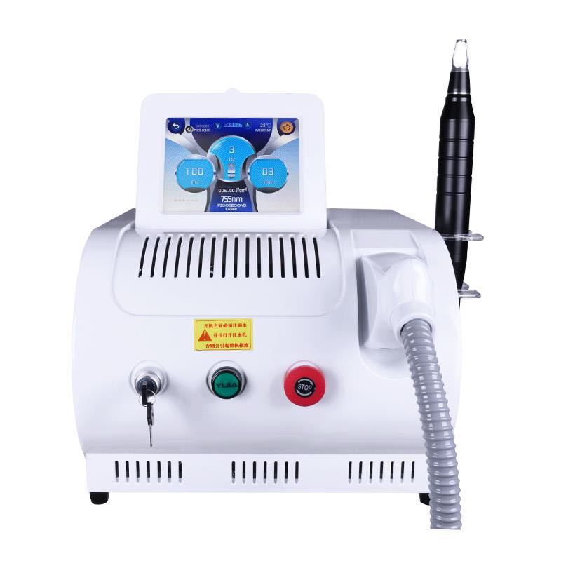 US Tax Free Top Quality 1064nm 532nm Q Switched Nd Yag Tattoo Removal Machine Age Spots Freckle Pigment Removel Beauty Salon