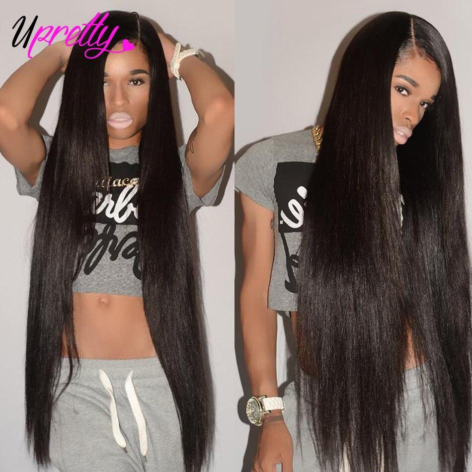 Upretty Hair Brazilian Virgin Hair Weave Bundles Straight Hair Bundles 40 inch 28 30 32 34 36 38 inch Human Hair Extensions