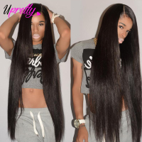 Upretty Hair Brazilian Virgin Hair Weave Bundles Straight Hair Bundles 40 inch 28 30 32 34 36 38 inch Human Hair Extensions