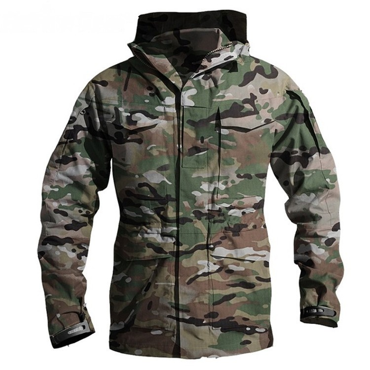 M65 UK US Army Clothes Windbreaker Military Field Jackets Mens Winter/Autumn Waterproof Flight Pilot Coat Hoodie Three colors 30