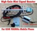 Reforço de sinal GSM repetidor de sinal de telefone celular GSM com LCD, 900 mhz amplificador de sinal com 13dbi yagi