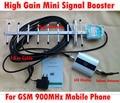 Tela de LCD GSM 900 Mhz Celular Mobile phone Signal Repetidor Impulsionador Amplificador repetidor 13 unidades Yagi 9 dBi Yagi Antena com Cabo