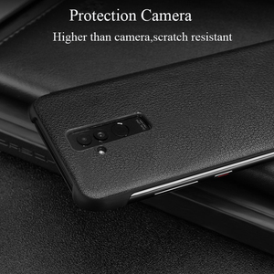 Image 3 - Smart View Flip P40pro Case For Huawei P40 P30 P20 Mate 10 20 Pro Lite Plus Original Luxury Genuine Leather Official Phone Cover