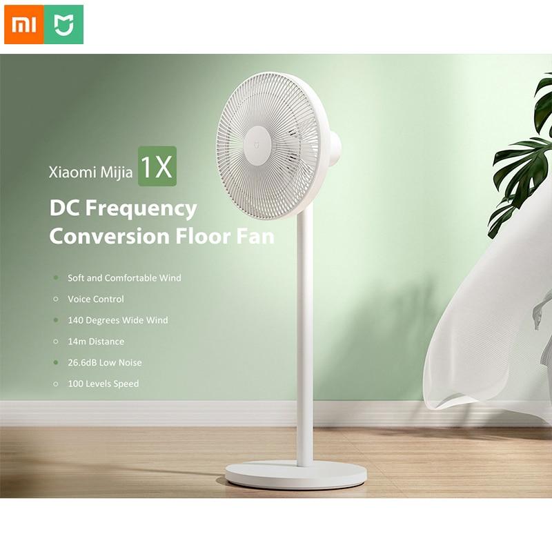 Xiaomi Mijia 1X DC fréquence Conversion ventilateur de sol naturel vent Portable climatiseur maison intelligente via MIJIA APP contrôle