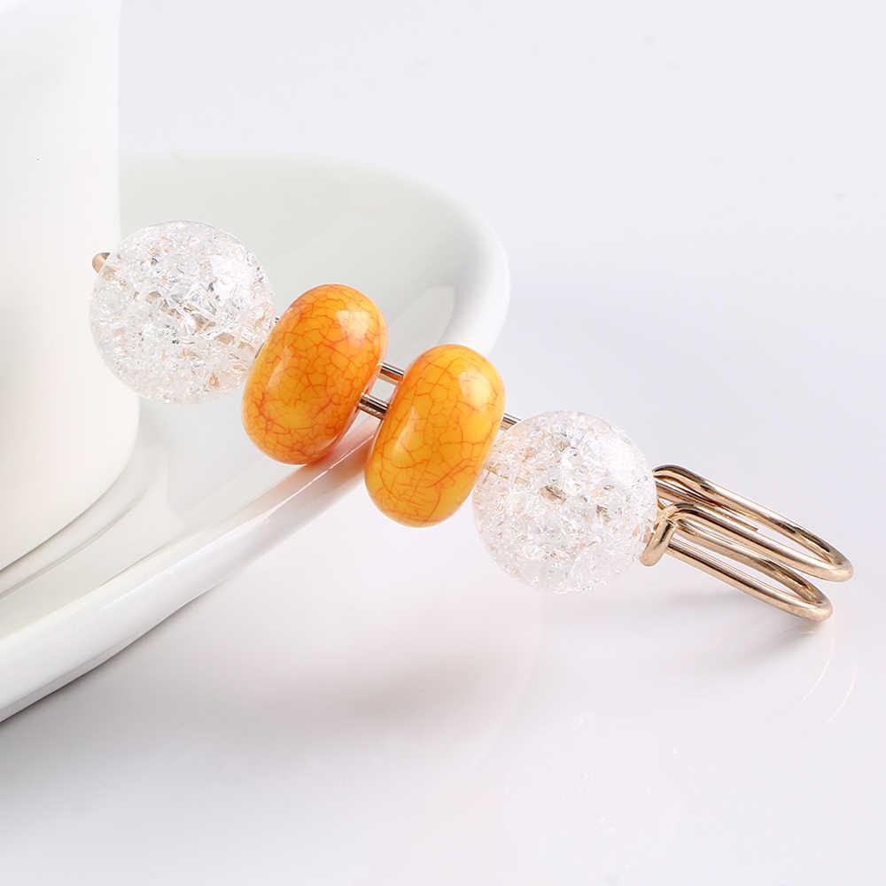 Kepribadian Klasik Wanita Bros Manik-manik Berwarna-warni Sesuai dengan Pin Crystal Bros Aksesoris Pakaian Perhiasan Kerah Pin Perhiasan Hadiah