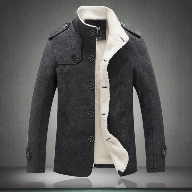Autumn Winter Woolen Jacket...