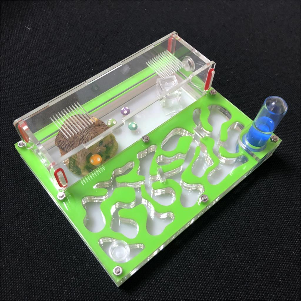 150mmx110mm Test Tube Moisture Big Space Ant Nest ,Ant Farm Acrylic, Insect Ants Villa House Ants Ecological Workshop