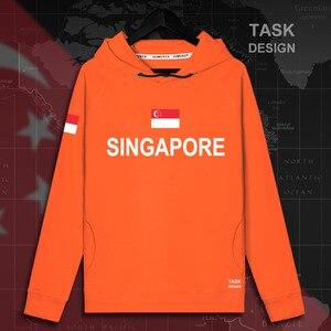 Singapura Singapura SG Singapura PEC pullovers hoodies homens capuz novo streetwear roupas hoodie dos homens Sportswear agasalho
